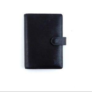 Louis Vuitton - Black Agenda Pm Epi Leather